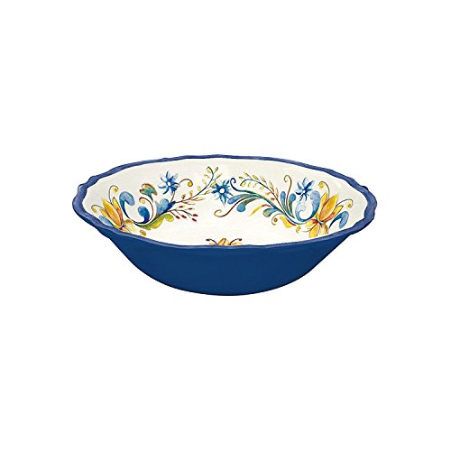 - Le Cadeaux Melamine Floral Harvest - Cereal Bowl