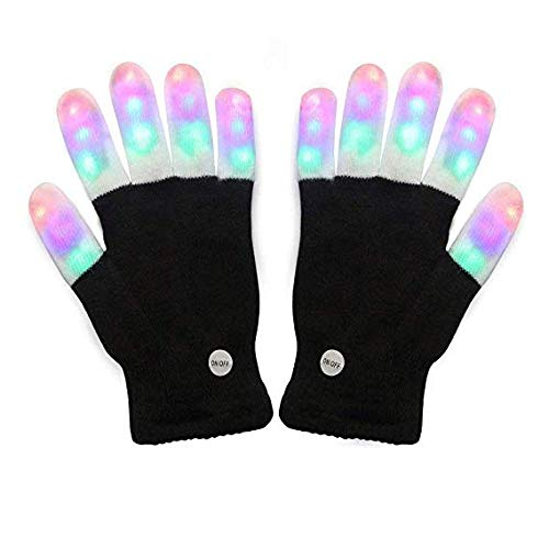 Tritechnox #1 Premium quality LED Lighting Gloves, Flashing fingers, Rave gloves, colorful gloves, light show by