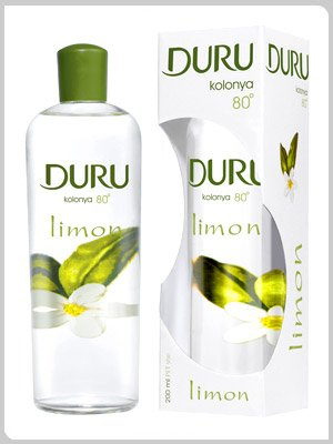 3X DURU LEMON TRADITIONAL TURKISH COLOGNE AFTERSHAVE 400ML - FREE UK DELIVERY Arko