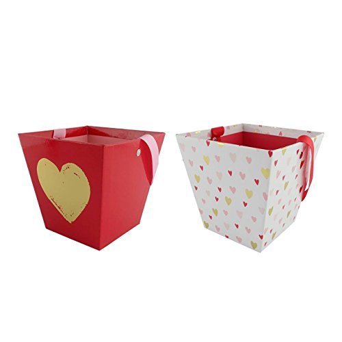 Valentine's Day Basket Heart Print (2