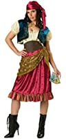 Incharacter Womens Gypsy Historic Theme Party Fancy Dress Halloween Costume