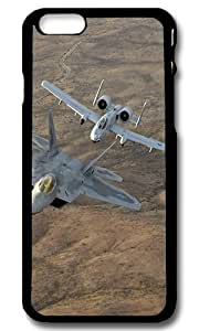 Rugged iPhone 6 Case,Military Jets Custom Case Cover for Apple iPhone 6 4.7inch Polycarbonate Black
