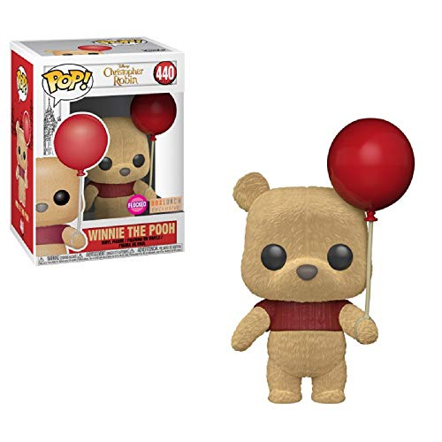 (Funko POP! Disney: Christopher Robin - Winnie The Pooh [With Red Balloon - Flocked] # 440 - BoxLunch Exclusive!)