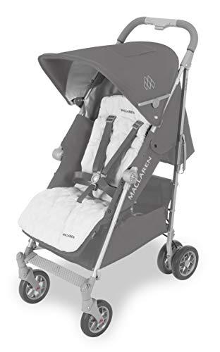 Maclaren WD1G150612 Techno XLR Silla de Paseo, Recien Nacidos hasta los 25 kg, Carbon/Plata