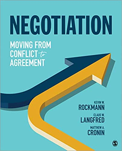 Negotiation: Moving From Conflict to Agreement - Original PDF