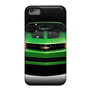 AlainTanielian Apple Iphone 6 Plus Anti-Scratch Hard Cell-phone Cases Custom Nice Green Camaro Pictures [oVH12226ydJt]