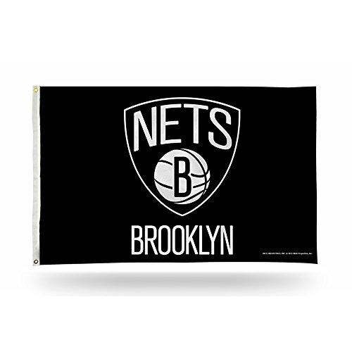Rico NBA Brooklyn Nets Banner Flag, 3' x 5' by Rico