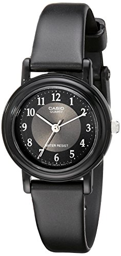 Casio Womens LQ139A-1B3 Black Classic Analog Casual Watch