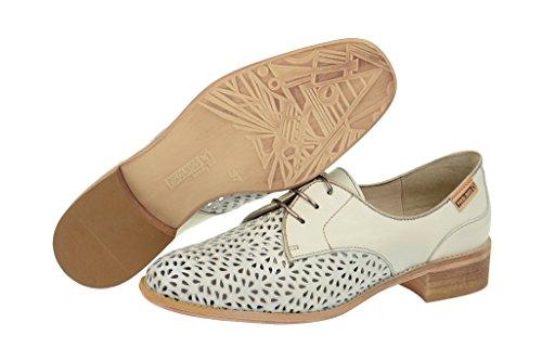 Pikolinos877-9527a Nata-onyx - zapatos con cordones Mujer Beige