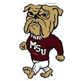 NCAA Mississippi State Bulldogs Car Magnet ''Walking Dog'' (Small, 2 Pack)