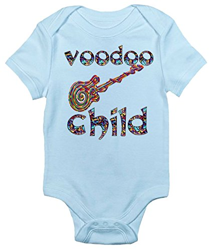 8af9991ac Voodoo Child Baby Bodysuit Cute Jimi Hendrix Baby Clothes for Boys and Girls  (0-
