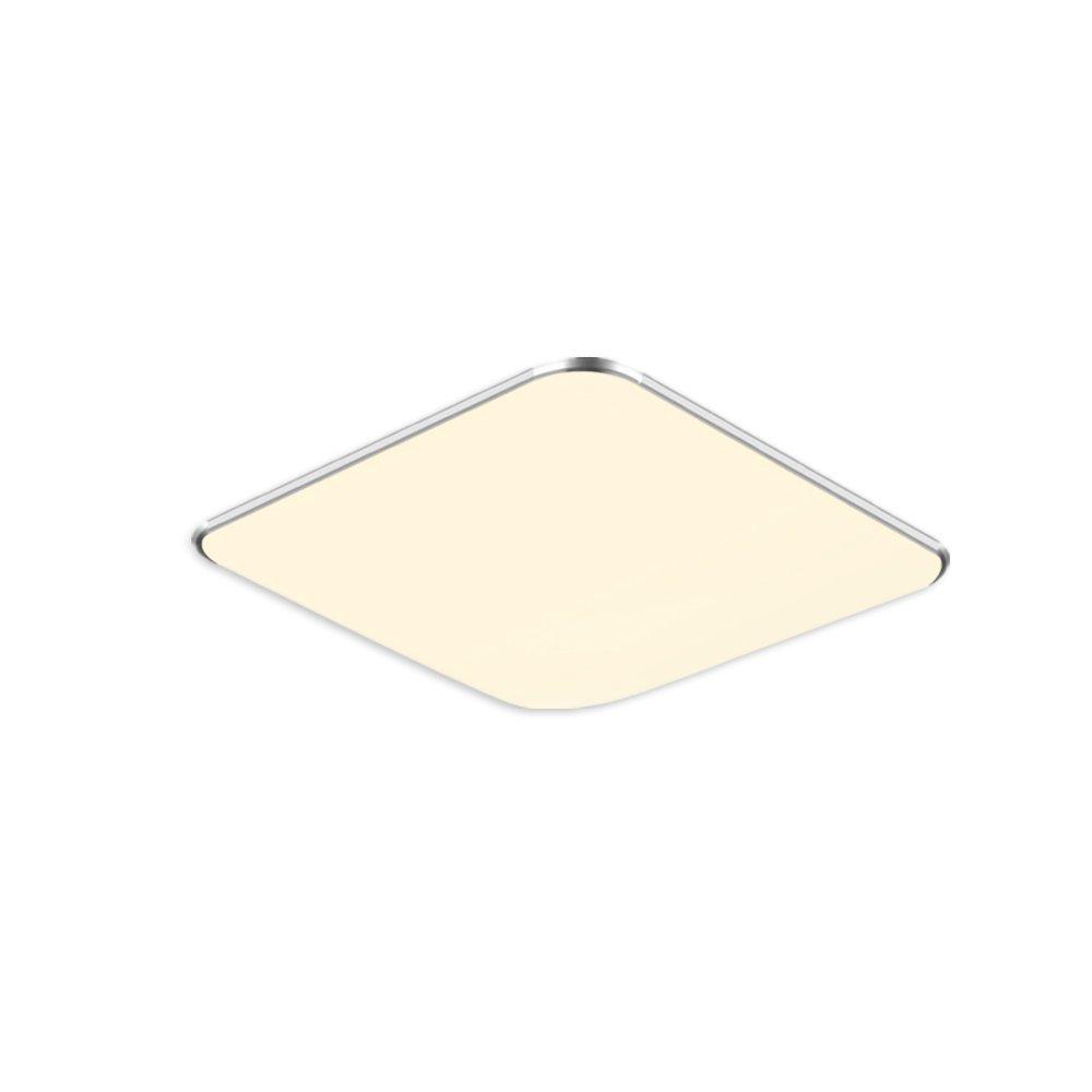 SAILUN 12W Warmweiss Ultraslim LED Deckenleuchte Modern Deckenlampe Flur Wohnzimmer Lampe Schlafzimmer Kche Energie Sparen Licht