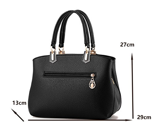 Wave Da Borse Donna Messenger Borse Handbag Ladies Classic New Shoulder Stereotypes Sweet Bag Blue dtxaIUq