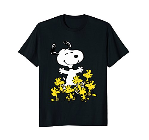 Peanuts Snoopy chick party T-shirt -