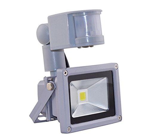 slpro® 10 W SMD LED Foco iluminación exterior Iluminación Interior Luz Blanca Fría, IP65
