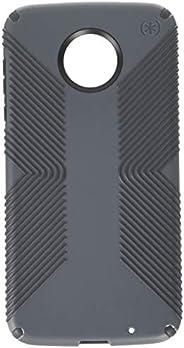 Speck Products Presidio Grip - Funda para Moto Z2 Force Edition, Agarre Presidio, Gris