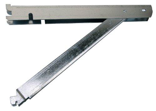 (Knape & Vogt John Sterling Fast-Mount 13-inch Supported Double Shelf Bracket, BK-0103-14)