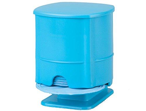 Zirc 50Z471N Insti-Dam Dispenser, 12.38 cm x 12.38 cm x 15.56 cm Size, Latex-Free, Neon Blue by Zirc