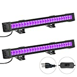 FAISHILAN 2 Pack LED Light, 24W Barlight with 5Ft