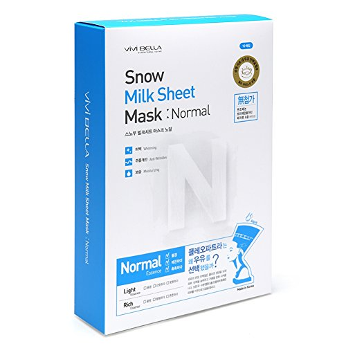 vivi-bella-snow-milk-sheet-mask-pack-10ea-available-in-3-types-normal
