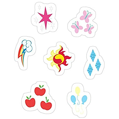 B. Strange Mall My Little Pony - Elements of Harmony Cutie Mark Special V2 (Sunset Shimmer) Stickers (3 Pcs/Pack): Kitchen & Dining