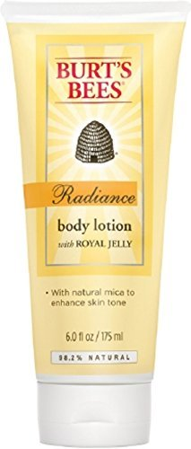 Burt's Bees Radiance Body Lotion with Royal Jelly 6 oz (Pack of 4)