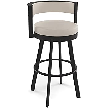 Amazon Com Amisco Browser 26 In Swivel Counter Stool