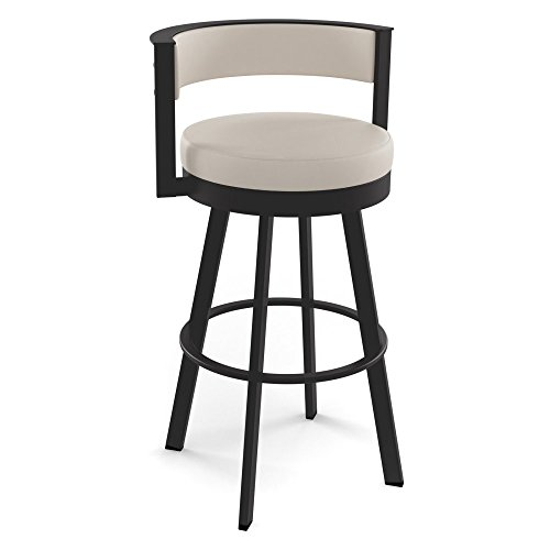 Amisco Browser 30 in. Swivel Barstool - Amisco Bar Stools