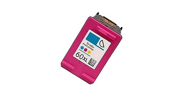 tuotou 1PK Compatible CC641WN (para HP 60 X L) cartucho de tinta ...