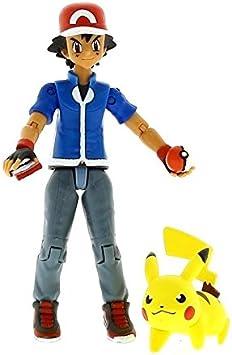 Bizak Pokémon Pack Figuras Ash y Pikachu: Amazon.es: Juguetes y juegos