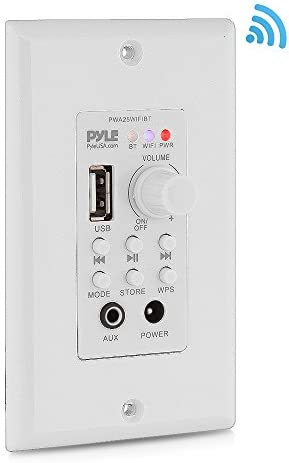 Wall Mount Bluetooth Receiver PWA25WIFIBT product image
