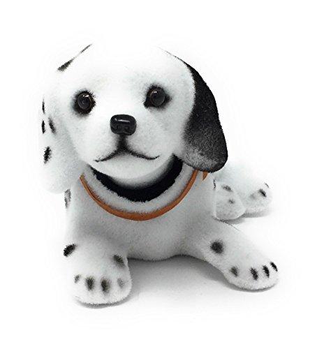 Noveltees Company Bobbing Head Dog, Bobble Head Dalmatian (Bobbing Doll)