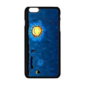 Cute Night Sun Brand New And Custom Hard Case Cover Protector For Iphone 6 Plus