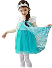 Shiny Toddler 2015 Summer Little Girls Princess Halloween Dress,Size 2T-6