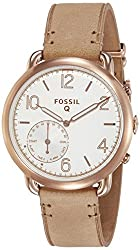 Fossil Hybrid Smartwatch - Q Tailor Light Brown Leather