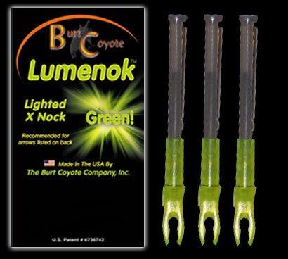 Lumenok X Nock (3-Pack), Green