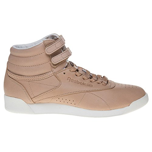 Reebok Freestyle Hi Face 35 Femme Baskets Mode Nude