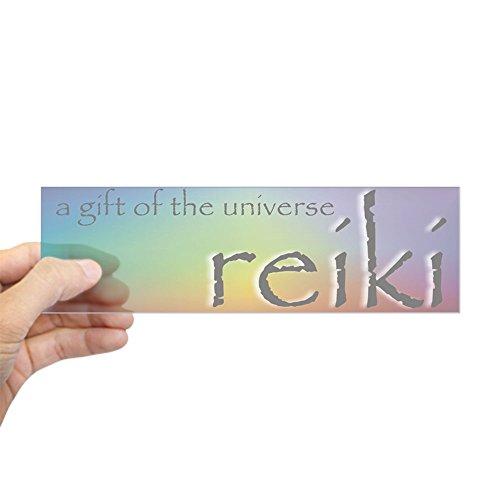 - CafePress - Reiki Universal Gift Bumper Sticker - 10