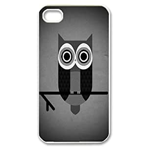 Chaap And High Quality Phone Case For Iphone 4 4S case cover -Lovely Penguin-LiShuangD Store Case 4