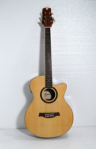 40'' Acoustic Electric Cutaway Guitar by G.great