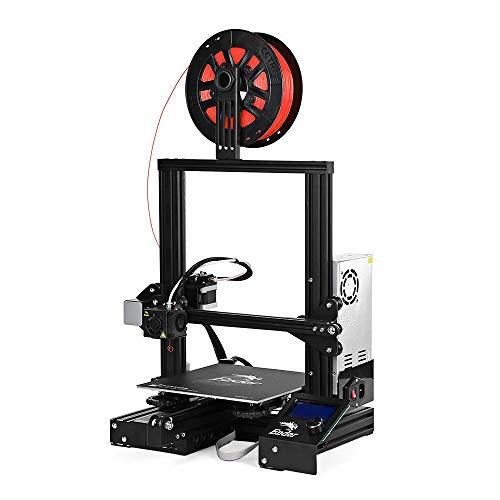 (Creality Ender-3 3D Printer Kit V-Slot DIY with MK10 Extruder 1.75mm 0.4mm Nozzle 220 x 220 x 250mm (not Include Filament))