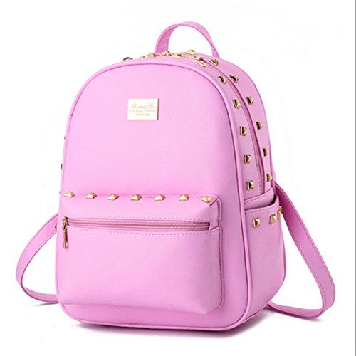 FOLLOWUS - Bolso mochila  para mujer, negro (negro) - G72241B rosa