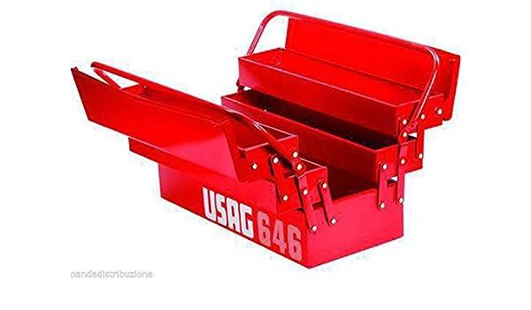 Depósitos/Caja para herramientas vacía Usag artículo 646/LV 5: Amazon.es: Bricolaje y herramientas