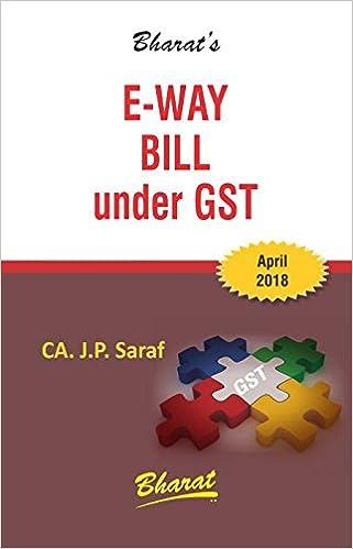 E-way Bill under GST