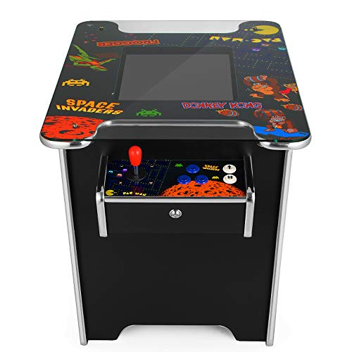 VEVOR Cocktail Arcade Game Machine with 60 Games 19 Inch Screen Classic Arcade Game Cabinet Home Commercial Settable Cocktail Table Retro Game by VEVOR (Image #3)