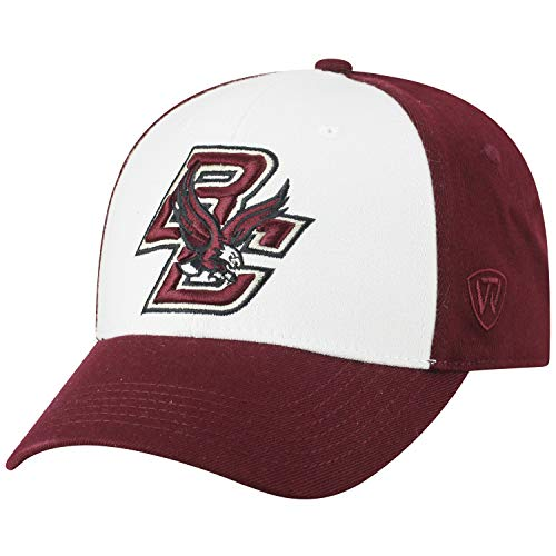Top of the World NCAA-Premium Collection Two Tone-One-Fit-Memory Fit-Hat Cap- Boston College Eagles