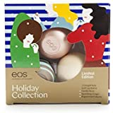EOS 3-pc. Lip Balm Set - Vanilla Bean, Peppermint Mocha and Sparkling Ginger- Limited Edition