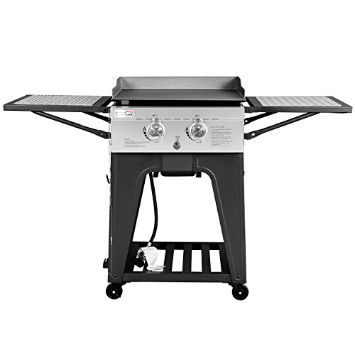 Royal Gourmet Regal GB2000 2 Burner Propane Gas Grill Griddle, 22'' L by Royal Gourmet