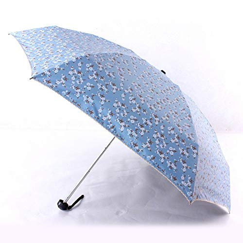 Autumn Water Quality Mini Pocket Umbrella Rain Women Sunny and Rainy Mini Fashion Folding Umbrellas 200g Small Sun Parasol 5Folding Umbrella