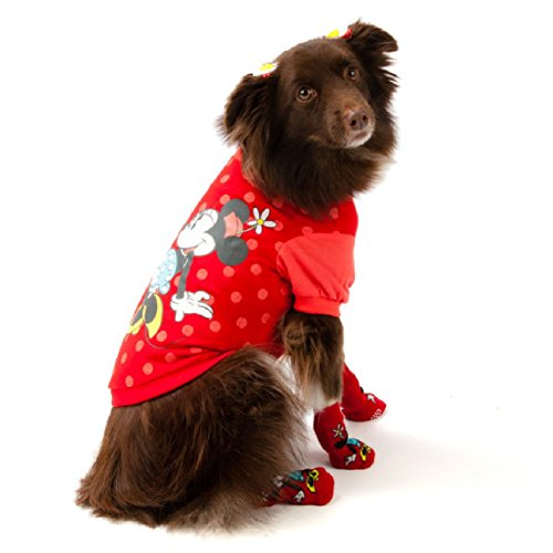 Disney - Minnie Mouse - Dress Up Dog T-Shirt (Mickey Mouse Dog Costume Halloween)
